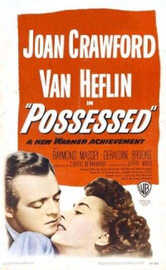 Possessed (1947 film) - Theatrical release poster