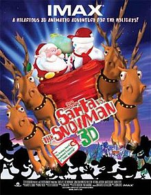 Poster of the movie Santa vs. the Snowman 3D.jpg