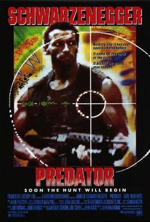 Predator (film) - Theatrical release poster