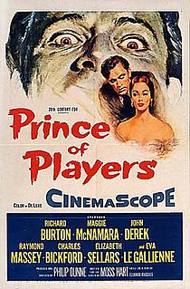 <i>Prince of Players</i> 1955 film by Philip Dunne