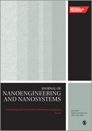 Proceedings of the Institution of Mechanical Engineers, Part N: Journal of Nanoengineering and Nanosystems - Image: Proceedings of the I Mech E N journal cover