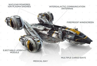 USCSS Prometheus schematic