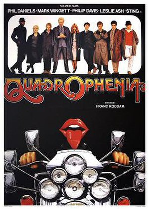 Quadrophenia (film) - UK theatrical release poster by Renato Casaro