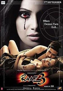 <i>Raaz 3D</i> 2012 film by Vikram Bhatt