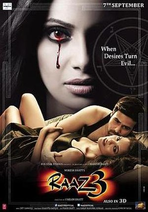 Raaz 3D - Theatrical release poster