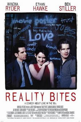 Reality Bites - Theatrical release poster