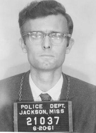 Robert Martinson - Freedom Rider mugshot from 1961