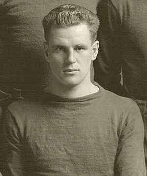 Roy Torbet - Torbet cropped from 1912 Michigan team photograph