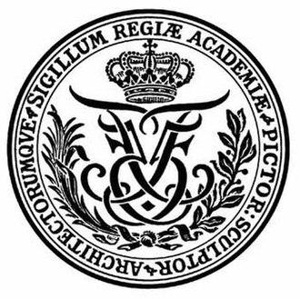 Royal Danish Academy of Fine Arts - Image: Royal Danish Academy of Fine Arts Logo