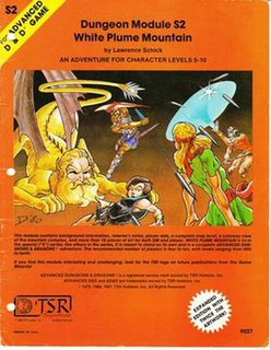 <i>White Plume Mountain</i> book by Lawrence Schick