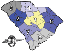 SC - Highway Patrol Troop map.png