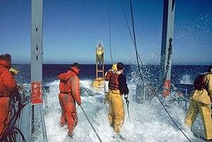 Scripps Institution of Oceanography - Scripps Institution of Oceanography researchers at sea