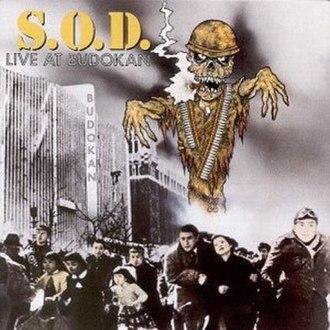 Live at Budokan (Stormtroopers of Death album) - Image: SOD Live At Budokan