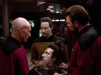 Time's Arrow (Star Trek: The Next Generation) - Data ponders his mortality