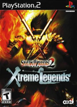 Samurai Warriors 2 - Image: Samurai Warriors 2 Xtreme Legends cover