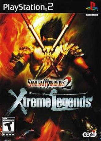 Samurai Warriors 2 - Image: Samurai Warriors 2 Xtreme Legends cover