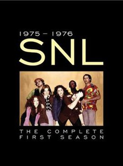 The title card for the first season of Saturday Night Live.