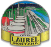 Official seal of Laurel, Montana