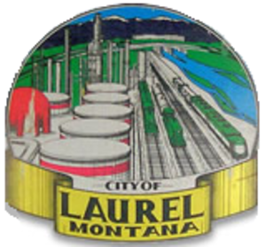 Laurel, Montana - Image: Seal of Laurel, Montana