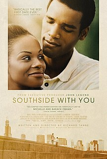 <i>Southside with You</i> 2016 film by Richard Tanne