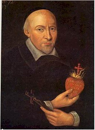 "Alliance of the Hearts of Jesus and Mary - Saint Jean Eudes (1601-1680) was called the ""father, teacher and first apostle"" of devotions to the Hearts of Jesus and Mary by two popes."