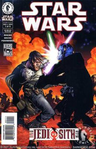 Jedi vs. Sith - issue one of the series