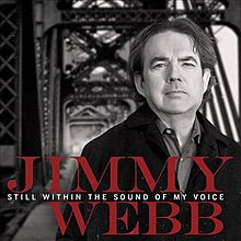 Album cover image of Jimmy Webb on a bridge
