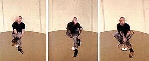 Study for a Self-Portrait—Triptych, 1985–86 - Study for a Self-Portrait—Triptych, 1985–86. Oil on canvas, each panel 198cm x 147.5cm. Marlborough Fine Art, London