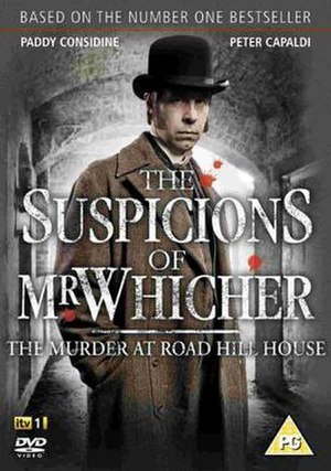 The Suspicions of Mr Whicher - The Suspicions of Mr Whicher DVD cover
