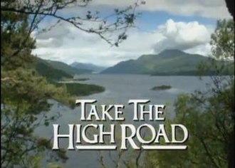 Take the High Road - Image: Takethehighroad