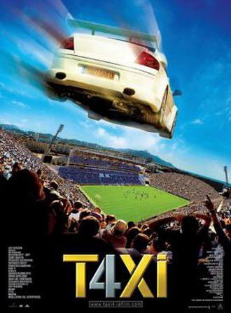Taxi 4 - Theatrical release poster