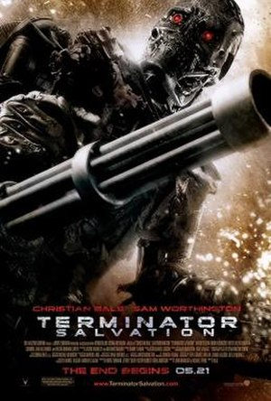 Terminator Salvation - Theatrical release poster