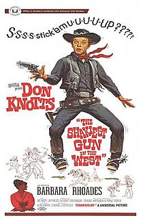 <i>The Shakiest Gun in the West</i> 1968 film by Alan Rafkin