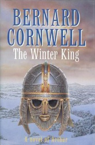The Winter King (novel) - First edition (UK), featuring a rendering of the Sutton Hoo helmet