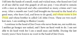 James Owen (American politician) American politician and slave owner from North Carolina