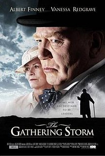 <i>The Gathering Storm</i> (2002 film) 2002 television film directed by Richard Loncraine