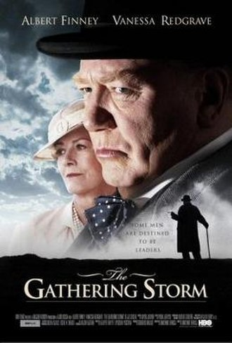 The Gathering Storm (2002 film) - Image: The Gathering Storm 2002 poster