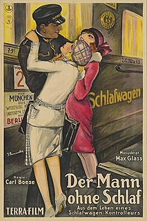 <i>The Man Without Sleep</i> 1926 film by Carl Boese