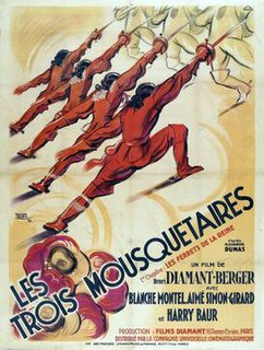 <i>The Three Musketeers</i> (1932 film) 1933 film by Henri Diamant-Berger