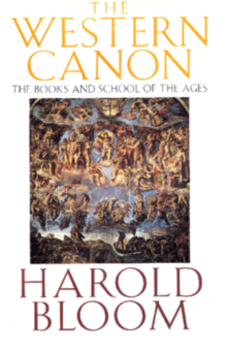 The Western Canon: The Books and School of the Ages - Cover of the first edition