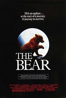 <i>The Bear</i> (1988 film) 1988 film by Jean-Jacques Annaud