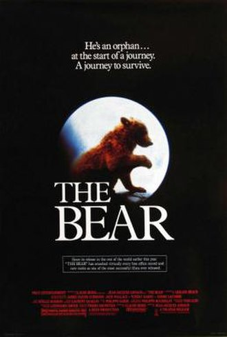 The Bear (1988 film) - American film poster