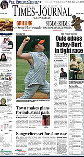 Times Journal Front 4 Jun 08.jpg