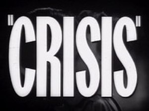 Crisis (1939 film) - Image: Title Card of Crisis