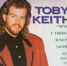 Toby Keith - Wish I Didnt Know single cover.png
