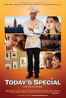 <i>Todays Special</i> (film) 2009 film by David Kaplan