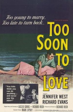 Too Soon to Love - Theatrical poster