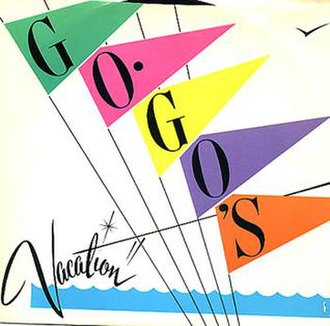 Vacation (The Go-Go's song) - Image: Vacation Go Gos