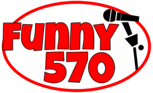 "WQDR (AM) - WFNL's logo for its ""Funny 570"" format."