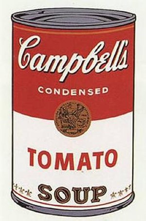 Andy Warhol - Campbell's Soup I (1968)